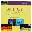 DNB CET Review for Primary & Post Diploma 2013 Supplement 1st Edition
