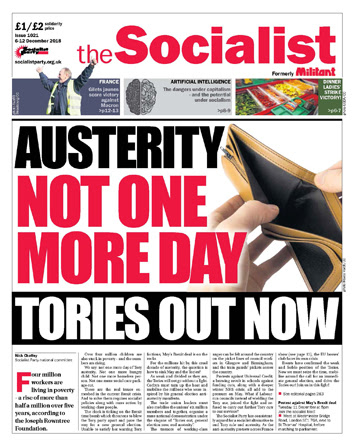 The Socialist issue 1021