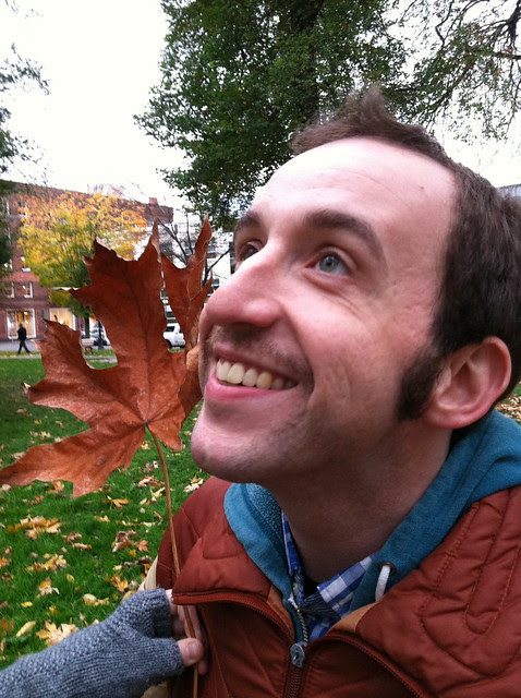 Chris in the Autumn
