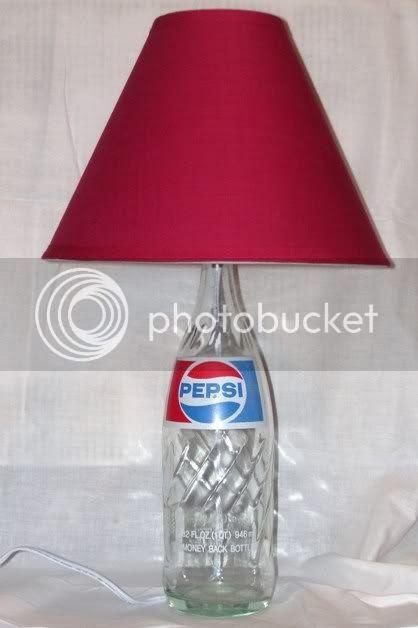 Pepsi Bottle Lamp