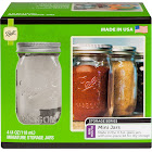Ball Mini Storage Jars, Clear, 4 oz - 4 pack
