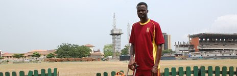 Nigerian cricket captain Kunle Adegbola