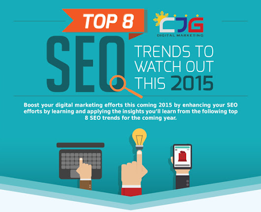 Top 8 SEO Trends to Watch Out this 2015 [Infographic]