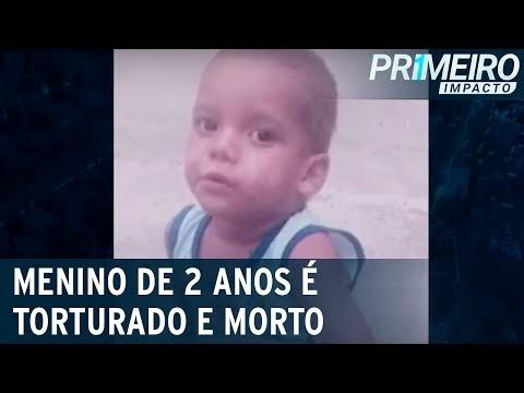 Mãe e padrasto torturam e matam menino de 2 anos na Paraíba