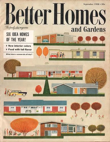 Better Homes & Gardens - Sept. 1958