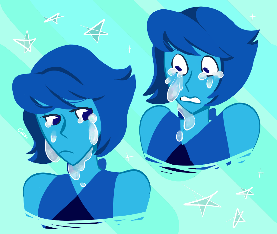 i just very much like to drawing tears like this