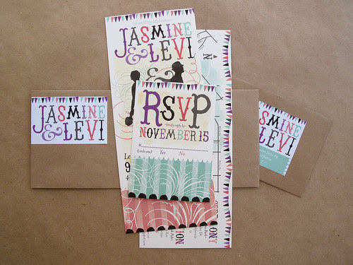 Quirky Wedding Invitation: Clodagh's Blog: Lowprice Simple Collections Of Square