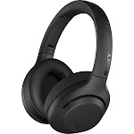 Sony - WH-XB900N Wireless Noise Cancelling Over-the-Ear Headphones - Black