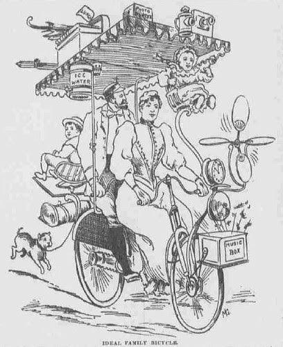Bicycle Ideal for a Family