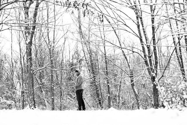 White Forest wanderer