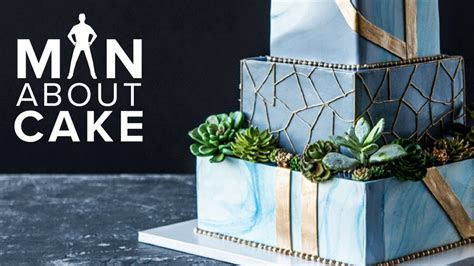 Succulent Wedding Cake FOR JAMES!   Man About Cake with