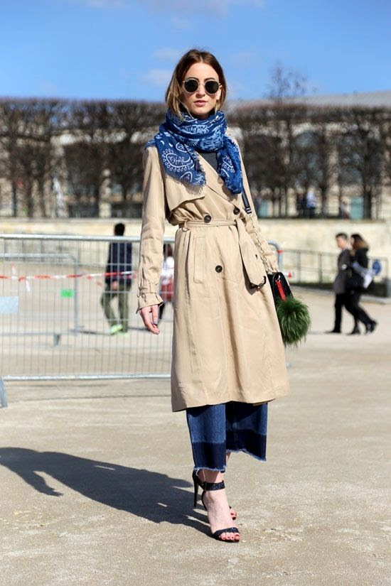 Le Fashion Blog Paris Street Style Round Sunglasses Blue Bandana Scarf Trench Coat Color Block Culotte Jeans Noor Queen Of Jet Lags photo Le-Fashion-Blog-Paris-Street-Style-Round-Sunglasses-Blue-Bandana-Scarf-Trench-Coat-Color-Block-Culotte-Jeans-Noor-Queen-Of-Jet-Lags.jpg