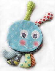 caterpillar baby cloth book