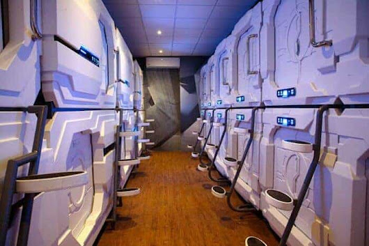A Pod Hotel Arrives at Mexico City Airport