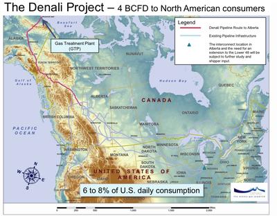 North America: Denali Pipeline