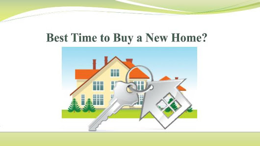 Best Time to Buy a New Home?