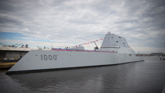Us Navy Commissions The Zumwalt, A Destroyer Like No Other