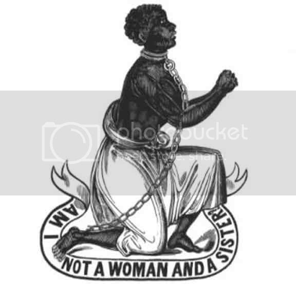image of a slave woman begging for freedon