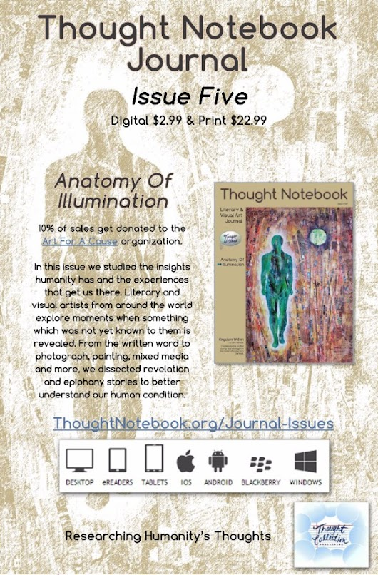 Thought Notebook Journal Issue 5 is released!
