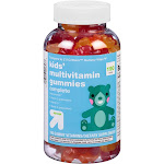 Kids' Multivitamin Gummies - Fruit Flavors - 190ct - Up&Up , Kids Unisex, Size: 190 Count