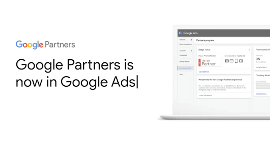 Google Partners Features Have Been Moved to Google Ads - Search Engine Journal