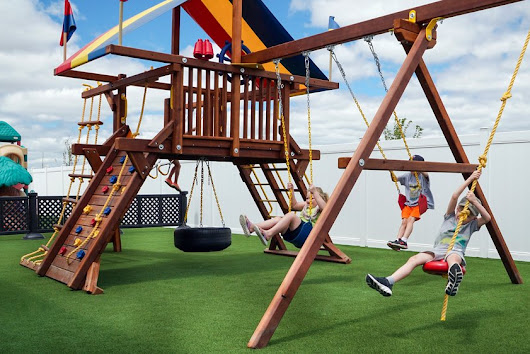 How Synthetic Grass Improves Playgrounds