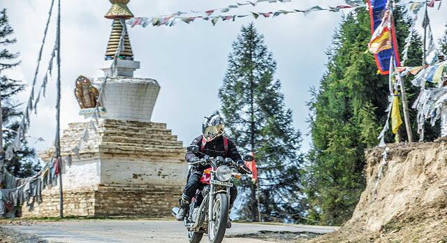 royal enfield tour of bhutan 2015