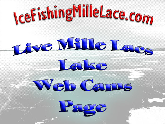 Real Time Mille Lacs Web Cams - Ice Fishing Mille Lacs
