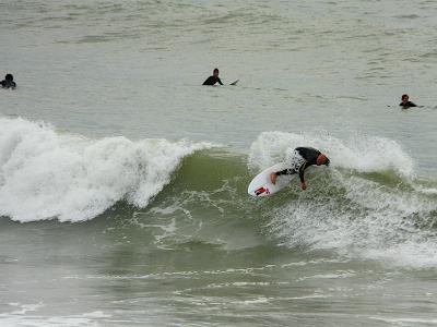 Sesión de surf del 04 de Mayo del 2008 - Sopelana