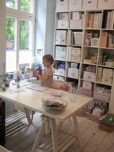 Pauline working