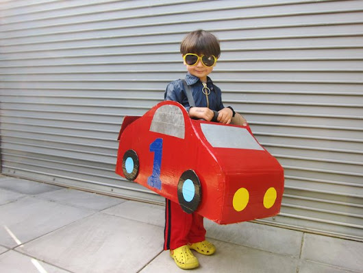 How to Make a Cardboard Car Costume | eHow