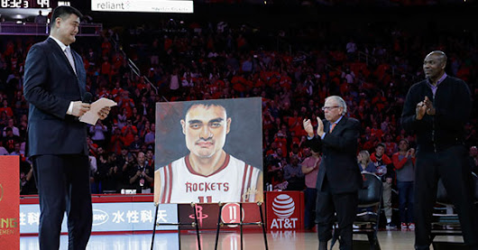 Rockets knock it out of the park with Yao Ming intro video