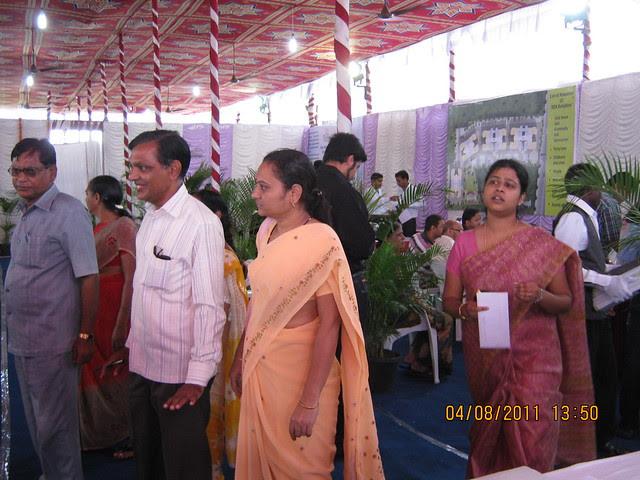 Property buyers at the launch of DSK Kunjaban - 1 BHK 2 BHK Flats - Punawale - off Mumbai Bangalore Bypass - Pune 411 045