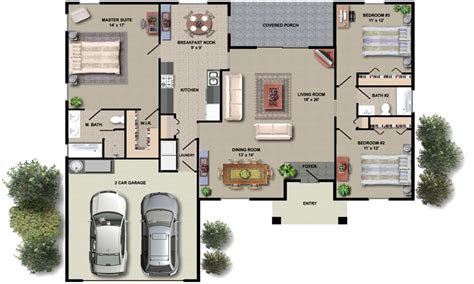 house floor plan design small house plans  open floor