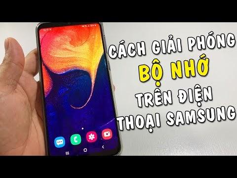 Cách tăng thêm dung lượng cho điện thoại Samsung