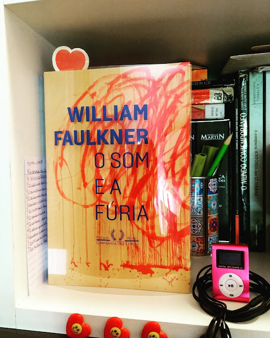 Livro: O som e a fúria – William Faulkner.