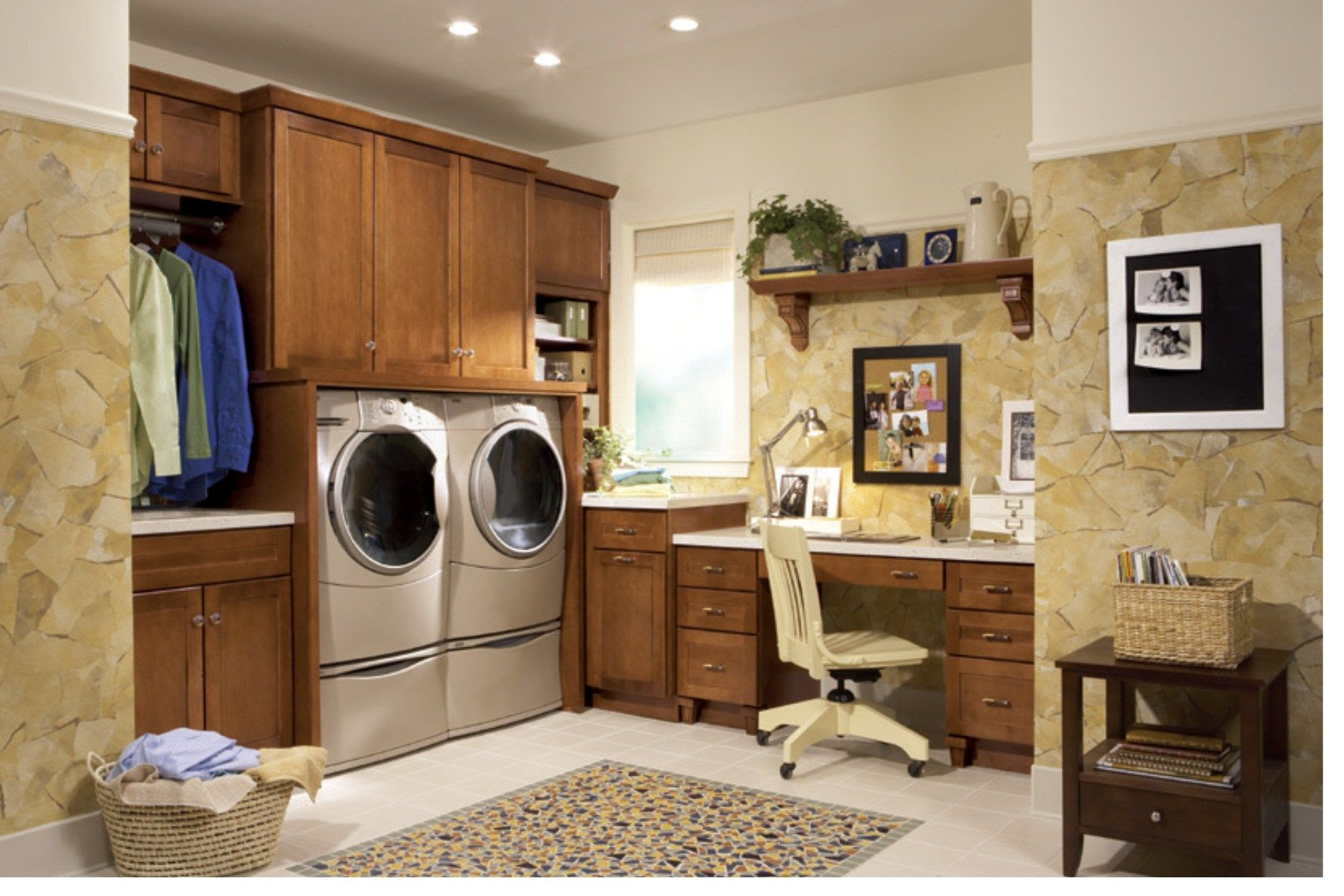 laundry room office house finds Pinterest