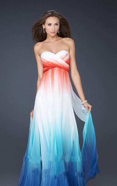 Evening dresses for a summer wedding