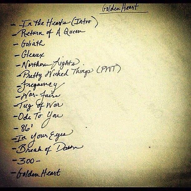 Golden Heart (Track List), Dawn Richard