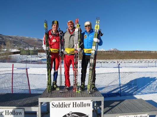 Men's Podium US XC Nationals Skate Sprint Report For more images ...