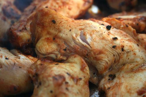 Orange BBQ chicken
