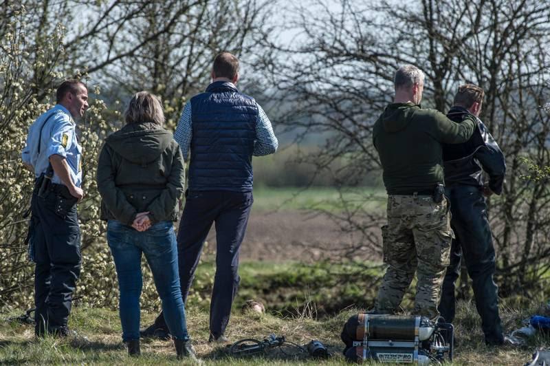 Det var her i en mergelgrav ved Herlufmagle, at politiet i april i fjor fandt liget efter 34-årige Jonathan Holst Nielsen. (Foto: Per Rasmussen)