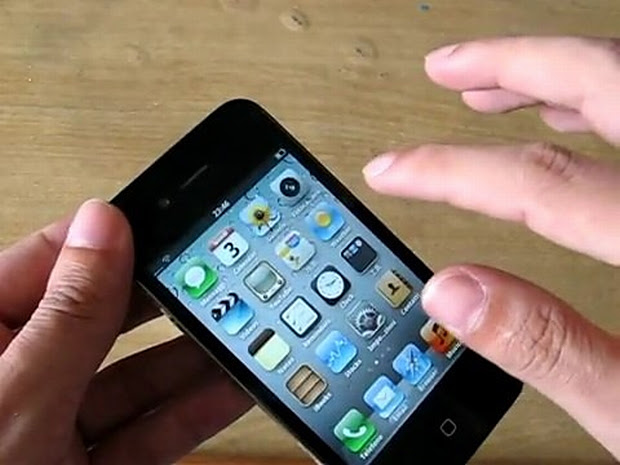 iPhone 4 da China (Foto: Reprodução)