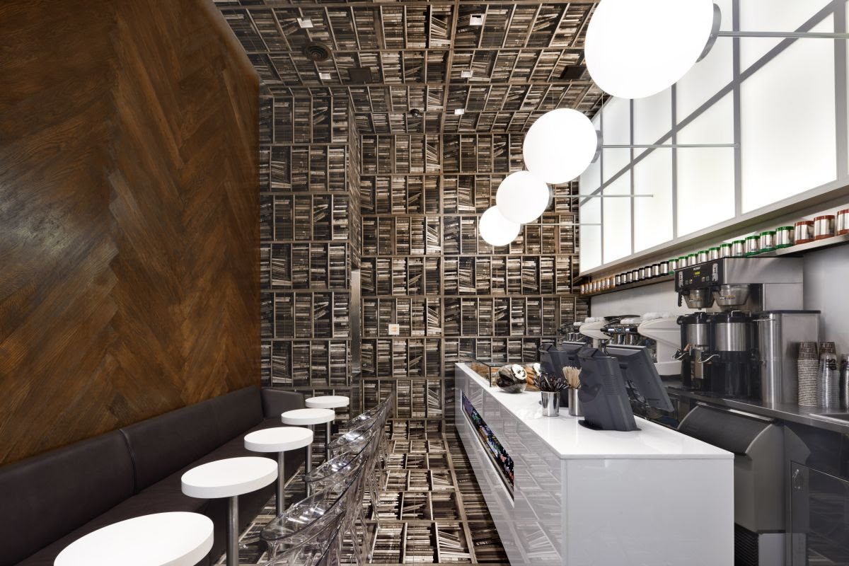 D'espresso Cafe Interior by Nema Workshop » CONTEMPORIST