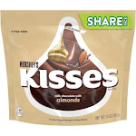 Hershey's Kisses Almond Chocolate Candy - 10oz