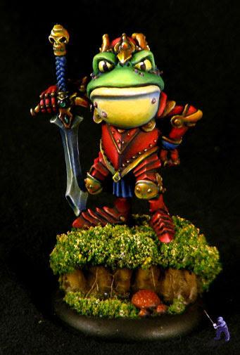 Frog Champion Above