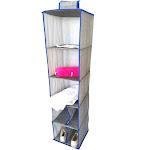 Elegant Home Fashions YN95080 Sweater & Shoe Shelf Organizer - Blue