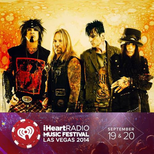 Mötley Crüe: video integrale dell'esibizione all' iHeartRadio Music Festival