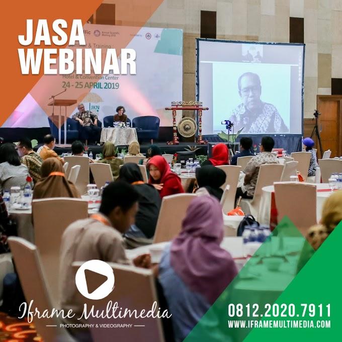 Jasa Webinar | 0812.2020.7911 | IFrame Multimedia oleh - fotografiasia.xyz