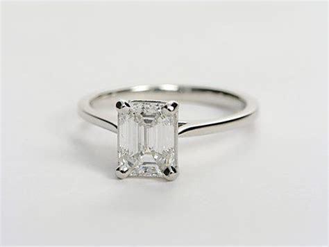 Oo la la! Simple, thin band, and one BIG ol diamond. Yes